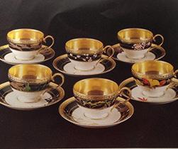 ノリタケ ティーコーヒー碗皿アソートセット