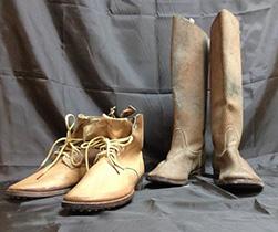 旧日本軍ブーツ2足