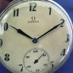 1806オメガ懐中時計