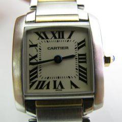 1911カルティエタンク時計
