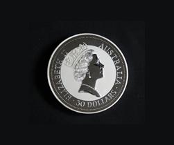 オーストラリア 30ドル銀貨