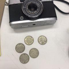 古銭 カメラ 貨幣 レトロ